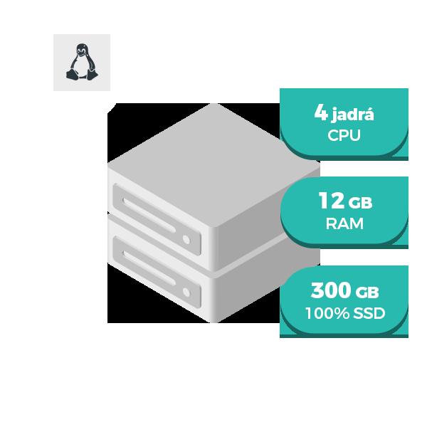 VPS M SSD - Virtuálny server